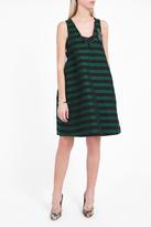 Rochas College Stripe Mini Dress