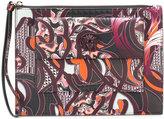 Versace Baroccoflage Palazzo clutch