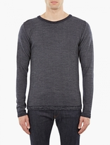 S.N.S. Herning Navy Wool Sweater