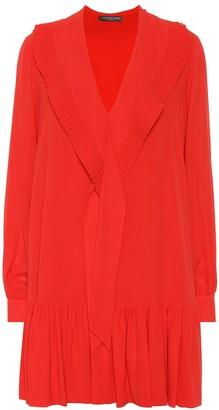 Alexander McQueen Silk minidress