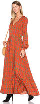 House Of Harlow x REVOLVE Janella Maxi Dress in Rust. - size S (also in XS,L)