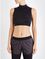 Puma x Stampd jersey cropped top