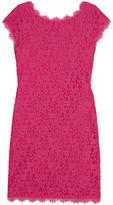 Diane von Furstenberg Barbara Corded Lace Mini Dress