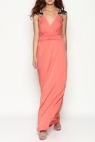 Gilli Coral Maxi Dress