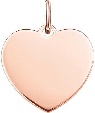 Thomas Sabo Love Bridge Heart 18ct rose gold-plated pendant