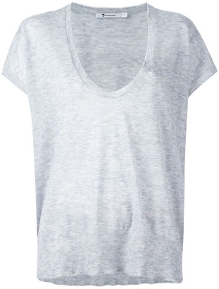 Alexander Wang Knit Scoop Neck Top