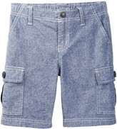 Tea Collection Chambray Cargo Shorts (Toddler, Little Boys, & Big Boys)