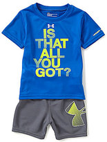 Under Armour Baby Boys 12-24 Months Is That All You Got Short-Sleeve Tee & Shorts Set