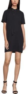 BCBGMAXAZRIA Tie-Neck Dress