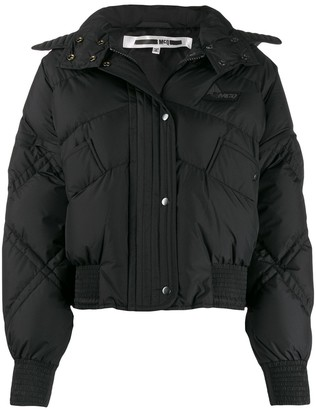 McQ Swallow Hooded Padded Jacket