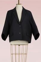 Jil Sander Wool and silk short jacket