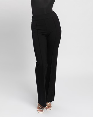 Spanx Women's Black Leggings - The Perfect Hi-Rise Flare Pants - Size One Size, XS at The Iconic