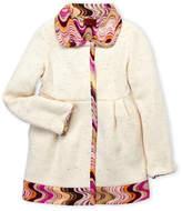 Missoni Girls 4-6x) Reversible Contrast-Trimmed Coat