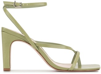 Schutz Open Toe 90mm Heeled Sandals
