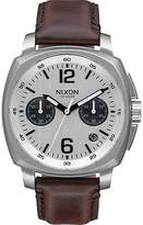 Nixon Charger Chrono Leather Watch