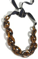 J.Crew Oval Lucite ® Link Necklace