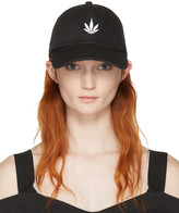 Palm Angels Black Vintage Weed Cap