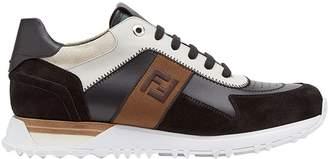 Fendi FF logo lace-up sneakers