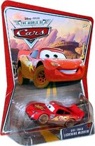 Mattel Dirt Track Lightning Mcqueen Disney / Pixar Cars 1:55 Scale The World Of Cars Die-Cast Vehicle