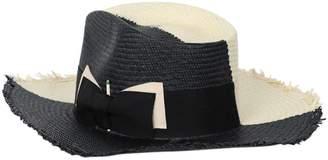 Nick Fouquet tree bones straw hat