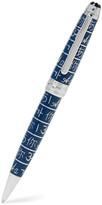 Montblanc Meisterstück UNICEF Solitaire Platinum-Plated Lacquer Ballpoint Pen