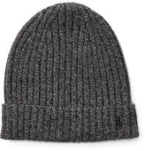 Polo Ralph Lauren Ribbed Cashmere-Wool Hat