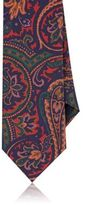 Barneys New York MEN'S PAISLEY NECKTIE-NAVY