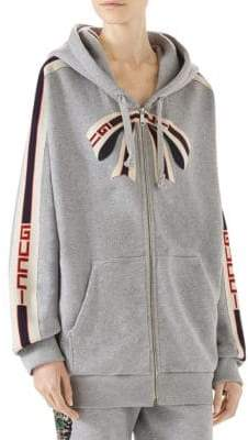 Gucci Striped Logo Jacket