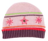 Catimini Girls' Floral Beanie