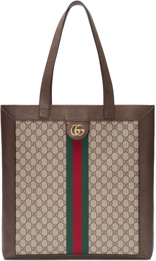 Gucci Ophidia soft GG Supreme large tote