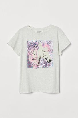 H&M Motif-front T-shirt