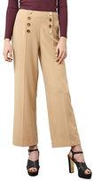 Miss Selfridge High-Waist Button Trousers