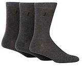 J By Jasper Conran Designer Pack Of Three Grey Mottled Socks