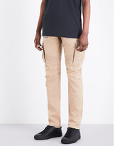 Balmain Slim-fit Cotton-twill Cargo Trousers