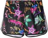 adidas floral runner shorts