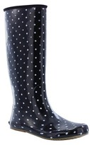Women's Packable Polka Dot Rain Boots