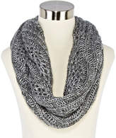 JCPenney MIXIT Mixit Sequin Scroll Crochet Scarf