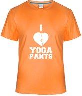 Eagle u2 Men's comfort short sleeve T-shirt I love yoga pants