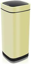 Addis 40 Litre Deluxe Press Top Square Bin - Cream