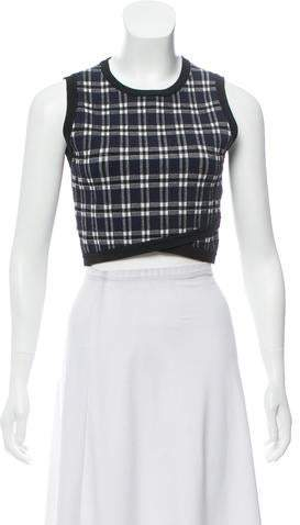 17591c41813 Plaid Cropped Tops - ShopStyle