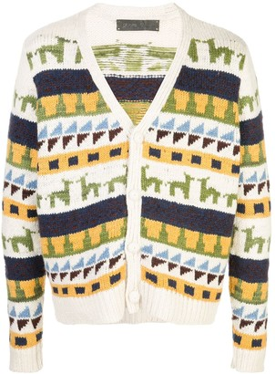 The Elder Statesman Zaza cashmere cardigan