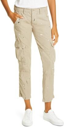 NSF Basquiat Ankle Cargo Pants