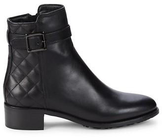 Aquatalia Orietta Leather Booties