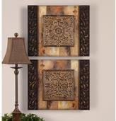"Global Direct 24 in. x 20 in. ""Ornamentational"" Wall Art (2-Set)"