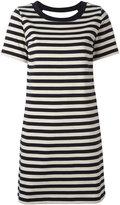 Moncler striped open back dress