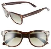 Tom Ford Women's Jack 51Mm Sunglasses - Dark Havana/ Green