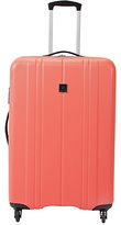 Revelation Santorini Large Hard 4 Wheel Suitcase - Coral