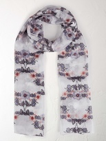White Stuff Perfect meadows silk scarf