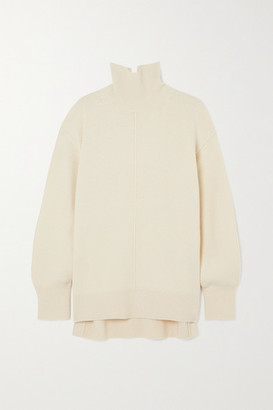 Joseph Wool Turtleneck Sweater - Ivory