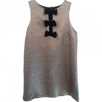 Miss Selfridge Gold Dress for Women